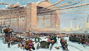 Moscow_in_XXIII_Century._Central_Air_Vokzal._1914